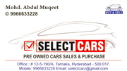 WE BUY & SELL USED /  PRE-OWNED CARS CONTACT ON 9966633228