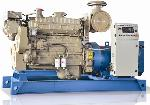 Used marine diesel generator sale 10kva to 500kva in Hyderabad-india