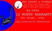 NEW ORBITREK DIRECT COMPANNY SHOWROOM NOW JUST @ 9999 CALL..9042360179