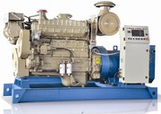 Used Marine Diesel Generator Sale 10kva to 500kva in Hyderabad-india b