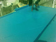 frp roof leak coating, frp tanks, frp gutters, frp scrubbers, and frp lini