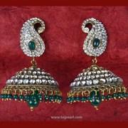 Earrings (Victorian style) from Taj Pearl & Arts