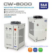 S&A laboratory water chiller unit with temperature control function