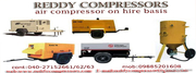 Air Compressor Hire,  Lease  and Rental Services In Hyderabad