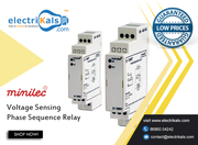 Relay - Minilec S1 VMR 7 DIN Rail Mounted Voltage Sensing Phase Relay