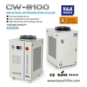 S&A industrial chiller for Roll to Roll UV printer