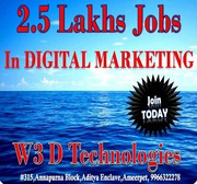 Digital Marketing Training in Hyderabad at W3D Technologies