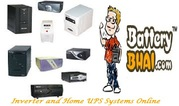 Buy Inverter/Home UPS & Inverter Battery Combo Online - BatteryBhai