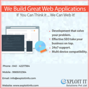 Web designing company In Hyderabad | Exploit IT Solutions