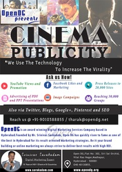 Online Movie Promotion & Marketing by No.1 Digital Marketing Agency