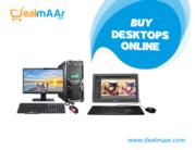 Buy Desktops Pcs Online  at reasonable price with Dealmaar