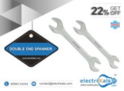 Spanner - Taparia DEP 19x22mm Double Ended Spanner Chrome PlatedOnline