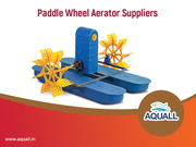 Get Paddle wheel aerators online at best prices in India – Aquall