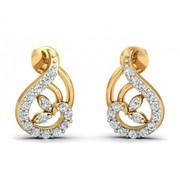 Shop Charvi Designer Diamond Earrings at Jewelslane