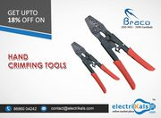 Buy Braco THD-6LA 0.5-6 Sq.mm Hand Crimping Tool Online