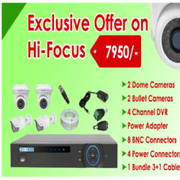 SPECIAL offer on Hi-focus 1MP CCTV cameras Kit