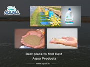 India's Best Suppliers of Aquaculture Products - Aquall