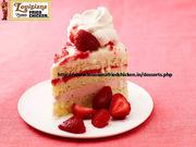 Tasty Strawberry Cake| Louisiana Famous Fried Chicken