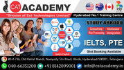 Best IELTS Coaching in Hyderabad | GRE | GMAT | TOEFL | PTE | IT Train