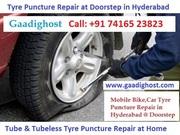 Bike Car Puncture Repair Services in Manikonda,  Hitech City