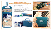 Detachable Folding Waterproof Outdoor Travel Toiletry Bag