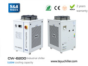 S&A water chiller system for cooling wire edm machines