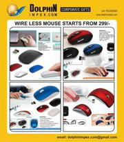 Promotional wireless mouse