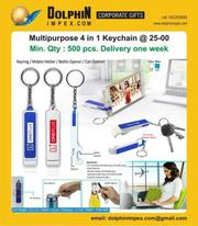promotional 4 in 1 Keychain