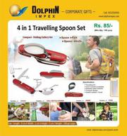 4 in 1 Travelling Spoon Set