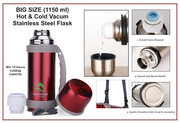 BIG SIZE STAINLESS STEEL VACUUM FLASK