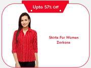 Women's Shirts Online Shopping