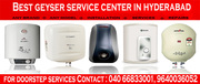 Any Brand Any Model Geyser Doorstep Services Hyderabad