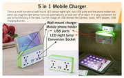 5 in 1 Mobile Charger