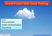 Oracle Fusion SCM Training | Best Oracle Fusion SCM Training in Hydera