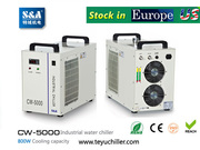 S&A CW-3000, CW-5000, CW-5200 chiller stock in USA