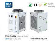 S&A industrial compressor refrigeration chiller CW-6100