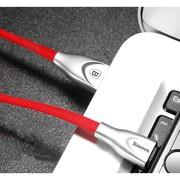 Baseus Zinc Alloy USB iPhone Lightning Charger Red