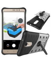 REDMI NOTE 3 ARMOR SHOCK PROOF BUMPER CASE WITH STAND | Fingoshop.com