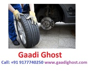 Gaadighosr Offering Bike,  Car Puncture Repair Services at Home