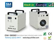 S&A water-cooled chiller CW-3000 AC220V,  50Hz for co2 laser or CNC spi
