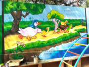 creative wall art painting in hyderabad