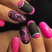 permanent nail extensions | nail art service at parlor | gosaluni