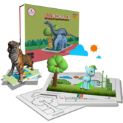 Kids Augmented Reality Educational Kits Preschools (2-6years)
