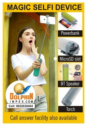 MULTI PURPOSE SELFIE STICK