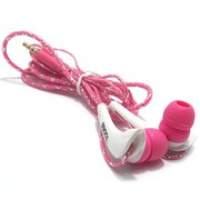 Buy Pink Colour In Ear Headphone with Remote Mic YK415