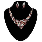 Austria diamond necklace set