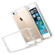 Buy Baseus Transparent Flexible TPU Case Cover For Apple 5 5S
