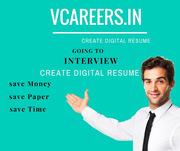 VCareers - Your Free Online Resume Builder | Create Digital Resume Tod