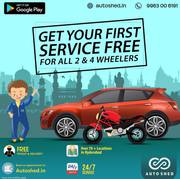 Get your 1st Free Car and Bike Online Repair services in Hyderabad