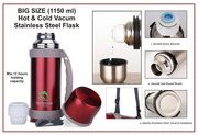 BIG SIZE HOT & COLD VACUUM STAINLESS STEEL FLASK